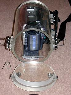 SAP #1 Large Homemade underwater camera housing