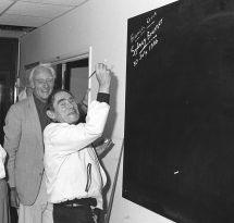 Sydney Brenner & Francis Crick