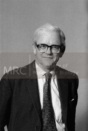 Portrait photograph of John Kendrew, c. 1960s.