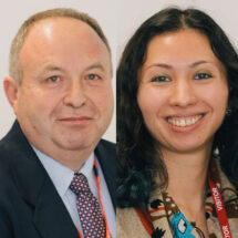 Richard Pannell and Nicola Smyllie