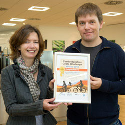 Hat Trick For Lmb And Mrc Centre Cyclists Mrc Laboratory