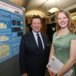 Cara Ellison with Ed Vaizey, MP, Photo by John Deehan Photography Ltd
