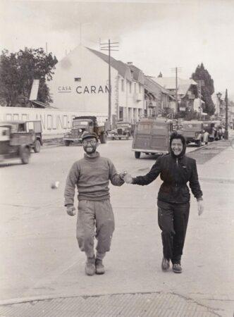 Celia and César Milstein 1955