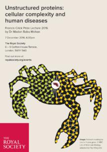 Francis Crick prize lecture flyer 2016