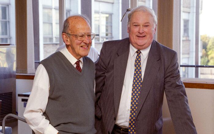 Michael Fuller & Max Perutz