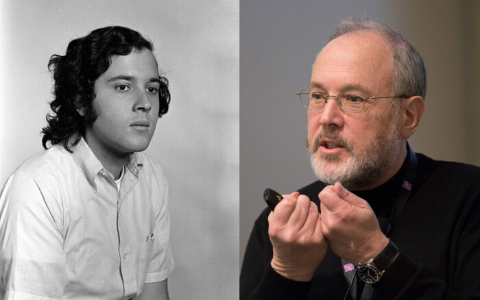 Gerry Rubin 1971 & 2017