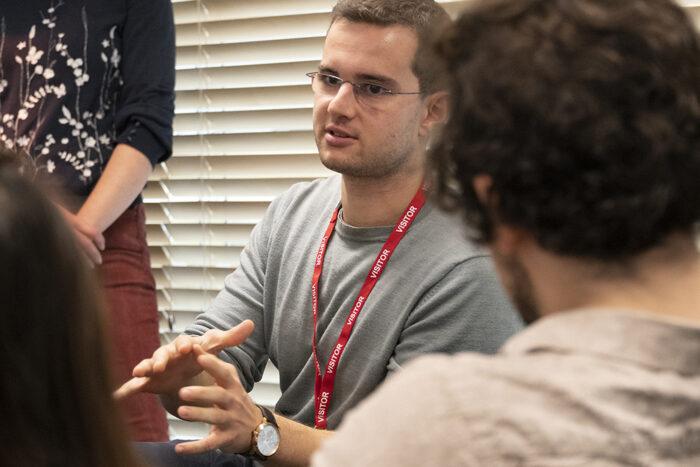 Harry Michalakakis describing his internship at POST