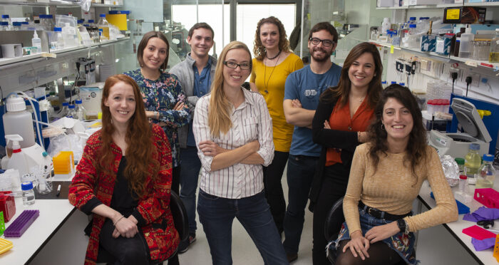 M. Lancaster group in lab