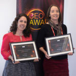 Kristin and Denise at the MRC CEO Awards