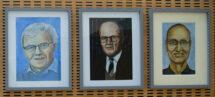 Nobel Laureates painting