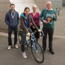 LMB's winning cyclists