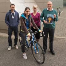 LMB's winning cyclists