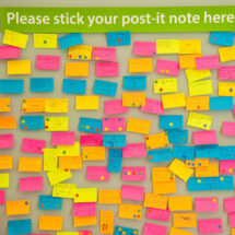 post-it note feedback