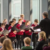 STEM in Song choir singing at LMB