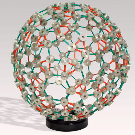 Self-assembling model spherical virus