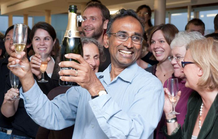 Venki Ramakrishnan Nobel celebration