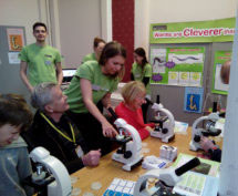 'Worms are cleverer than you think' in action at the Guildhall, Cambridge