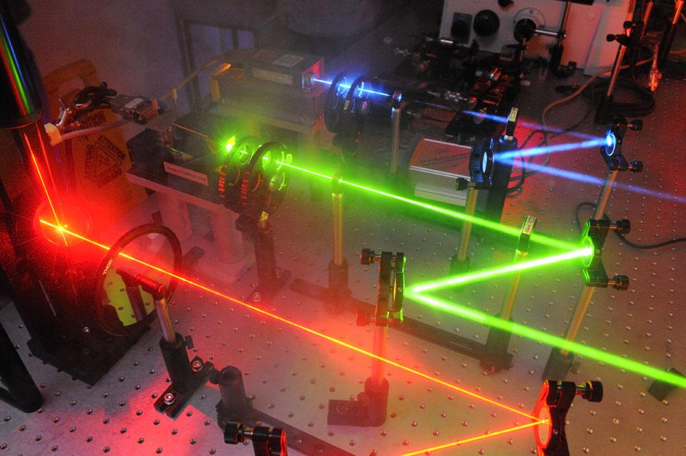 biophysics lasers
