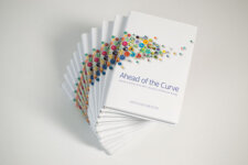 Stack of Ahead of the curve books