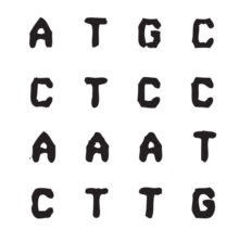 Automated DNA base sequence