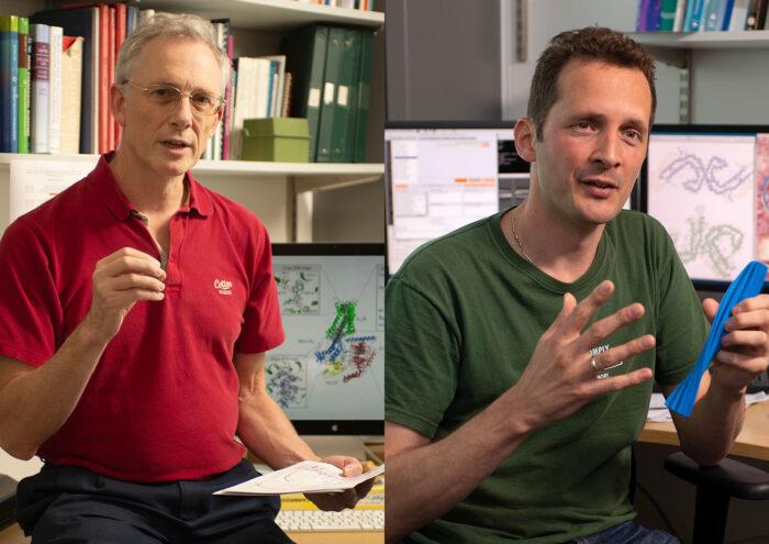 Chris Tate and Sjors Scheres
