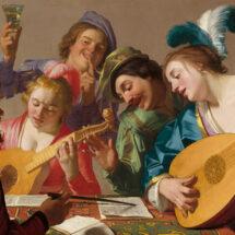 'The Concert' by Gerard van Honthorst
